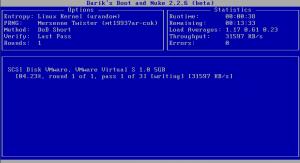 DBAN - очистка диска