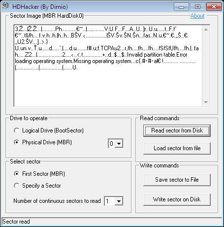 Управление разделами и MBR в Windows