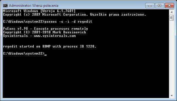 Изменение прав пользователя Windows XP