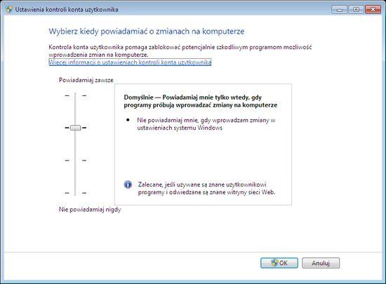 Изменение Windows Vista и 7 пользовательских разрешений