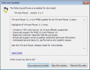 VMware Player: создание и использование виртуальных систем