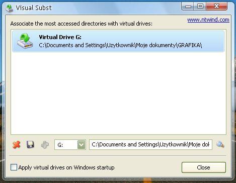 Монтирование образов дисков, виртуальных дисков