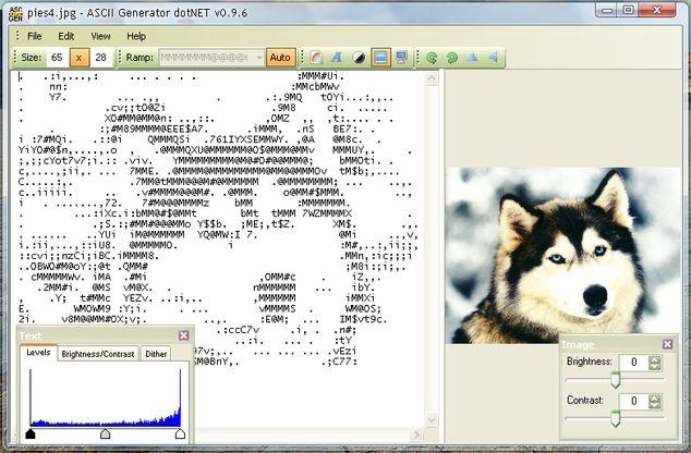 ASCII поколение