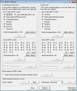 autorun-settings
