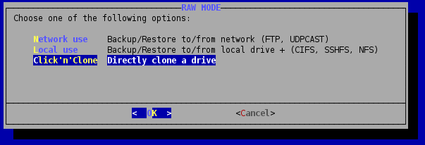 G4L: копирование дисков с помощью приложения Ghost 4 Linux