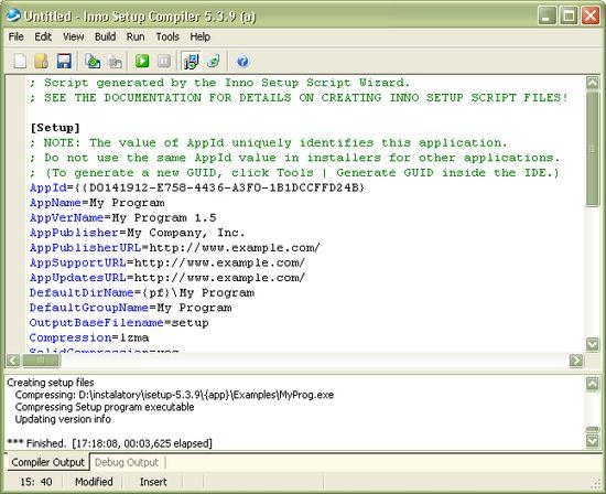SFX Tool / InnoSetup: создание установщиков