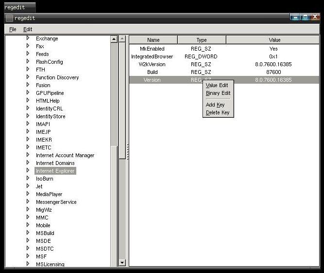 ПК Regedit - редактирование реестра Windows с загрузочного диска