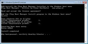 Plop Boot Manager - менеджер загрузки системы