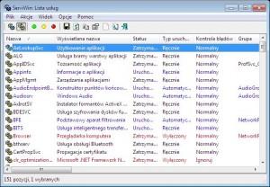 Контроль службы Windows