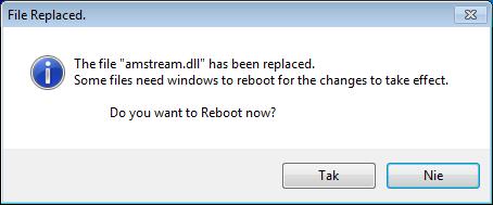 Se7en File Replacer - замена системных файлов Windows 7