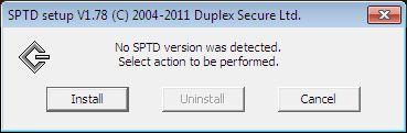 Отключение и удаление драйвера SPTD виртуального диска
