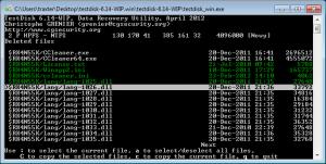 TestDisk / PhotoRec: восстановление данных
