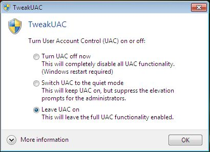 tweak-uac