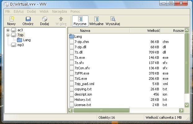 Создание индексов содержимого каталога