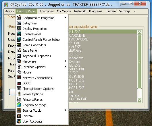 Средство запуска Windows XP