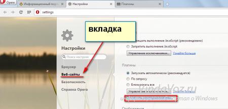 Как отключить флеш плеер в браузере