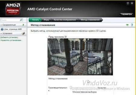 Настройка видеокарт AMD и Nvidia на производительность